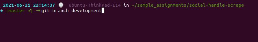 Create Branch In Git