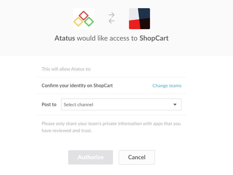 Integrate Atatus with Slack