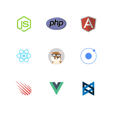 Frameworks supported